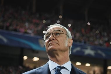 File picture of Leicester manager Claudio Ranieri. Getty Images