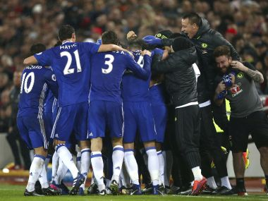 Chelsea showed great resilience to grab a vital draw at Anfield. AP
