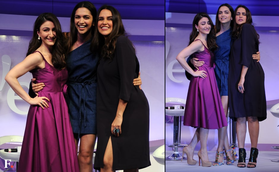 The three beauties pose and laugh with abandon. Sachin Gokhale/Firstpost