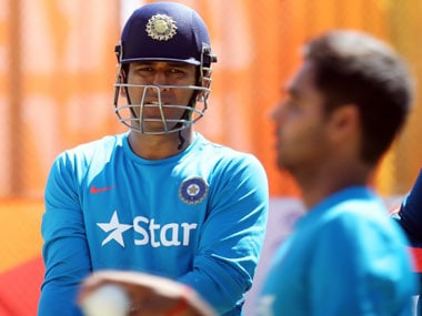 File picture of Mahendra Singh Dhoni. AFP