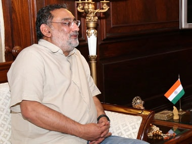 Jammu and Kashmir Finance Minister Haseeb Drabu. Image courtesy PIB