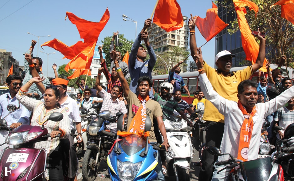 For the Sena it was an important election that showed its power on its home turf. Sachin Gokhale/Firstpost