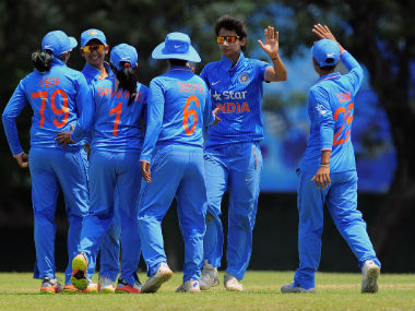 India defeated Bangladesh to enter the ICC Women's World Cup 2017. Image Credit: @BCCIWomen