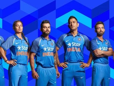 Star India had successfully entered a four-year deal for the Indian team jersey rights with BCCI in December 2013. Image courtesy: BCCI via Twitter