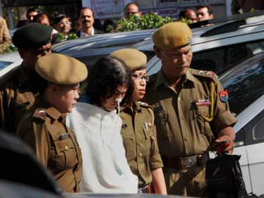Irom Sharmila. PTI