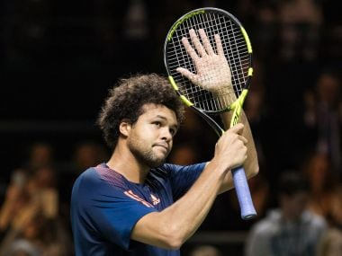 Jo-Wilfried Tsonga powered into the final with his 400th career win. Image courtesy: Twitter/@abnamrowtt