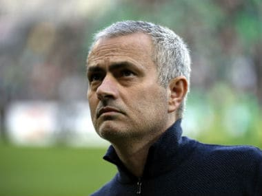 Jose Mourinho fears Henrikh Mkhitarayan and Michael Carrick's place in the squad for the EFL Cup final. AFP