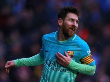 File picture of Lionel Messi. Getty Images