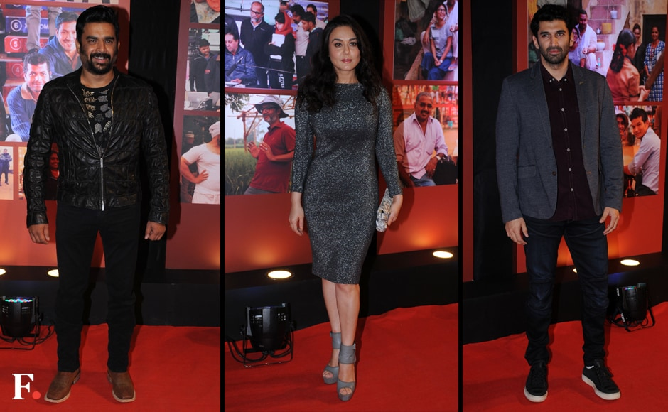 Madhavan, Preity Zinta and Aditya Roy Kapur. Sachin Gokhale/Firstpost