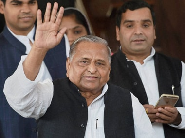 File image of former SP supremo Mulayam Singh Yadav. PTI