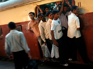 Local trains in Mumbai are always packed during morning and evening peak hours. Reuters