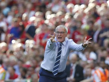 Leicester City's manager Claudio Ranieri. AFP