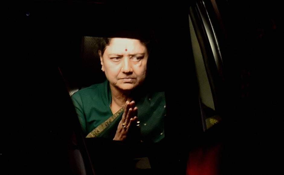 The Sasikala camp has told media that it would seek a review of the supreme court judgement. PTI