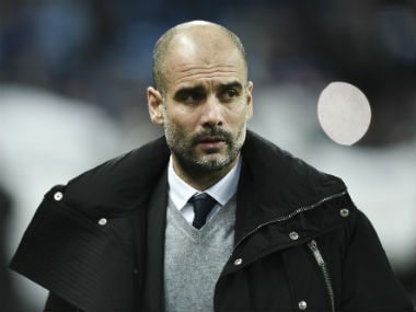 File image of Manchester City manager Pep Guardiola. AFP