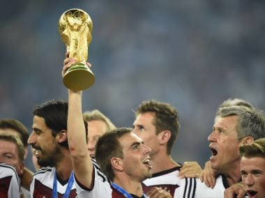 Philipp Lahm  was Germany's captain when they won the 2014 World Cup. Reuters