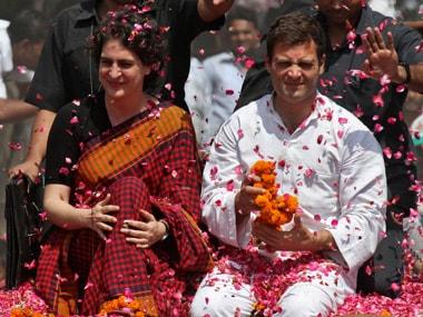 Priyanka and Rahul Gandhi. Reuters