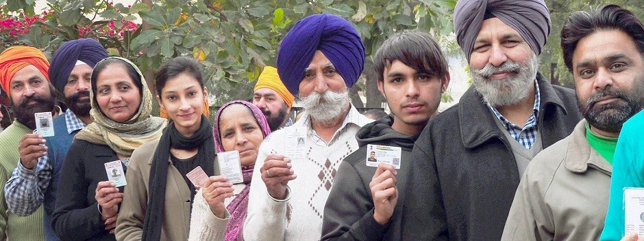 Punjab Election 2017: High voter turnout witnessed as re-polling concludes on Thursday