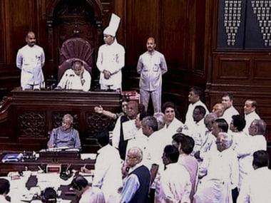 A file photo of the Rajya Sabha. PTI