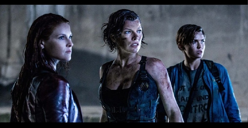 Resident Evil The Final Chapter Movie Clip Alice Awakes: 'Resident Evil: The Final Chapter' Movie Review: Milla