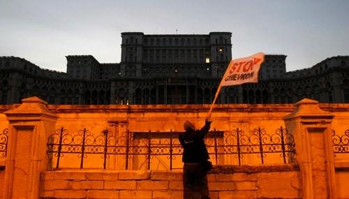Romanian Parliament. Reuters