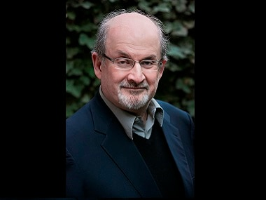 Salman Rushdie. Photo by Beowulf Sheehan
