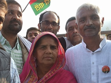 Sampat Pal of the Gulabi Gang will look to change her fortunes in the ongoing UP elections. Firstpost/Debobrat Ghose
