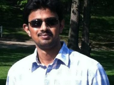 Srinivas Kuchibhotla was killed in the Kansas shootout. Twitter/@SikhProf