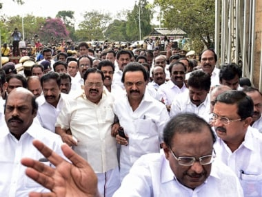 DMK launches statewide protests against eviction from Tamil Nadu Assembly, HC adjourns hearing of plea