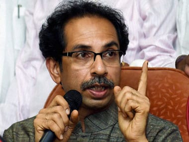 Uddhav Thackeray. File photo. PTI