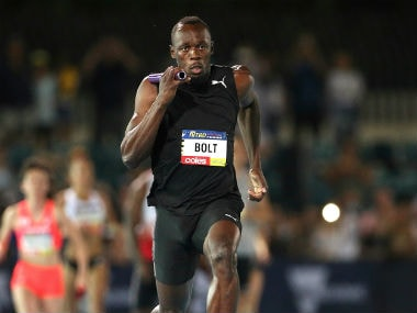 File image of Usain Bolt in action . Reuters