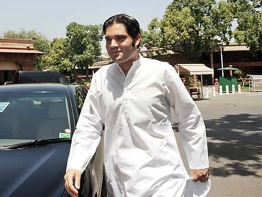 File image of Varun Gandhi. AFP