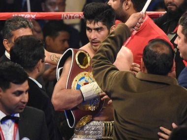 Vijender Singh is unbeaten in his eight bouts so far, having won seven of them by knockout. PTI