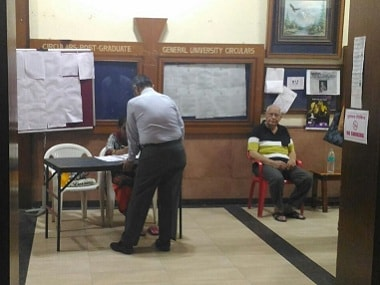 Several polling booths remained deserted, like this one at Malad. Image courtesy: Noopur Patel