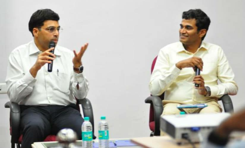 Viswanathan Anand speaks about the transition from mind to the machine with the host of the show, and the author of this article V Saravanan.