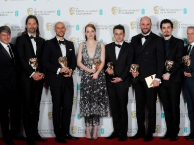 Baftas 2017: La La Land takes 5 trophies, Dev Patel wins Best Supporting Actor award for Lion