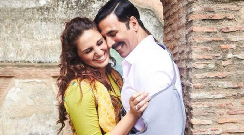 Huma Qureshi and Akshay Kumar in a still from 'Jolly LLB 2'