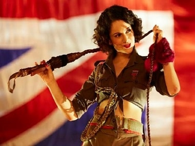 Kangana Ranaut as Miss Julia in Rangoon