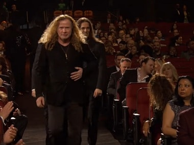 Watch: Megadeth ≠ Metallica, but someone forgot to tell the organisers of the 59th Grammy Awards