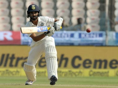 File photo of Ajinkya Rahane. AFP
