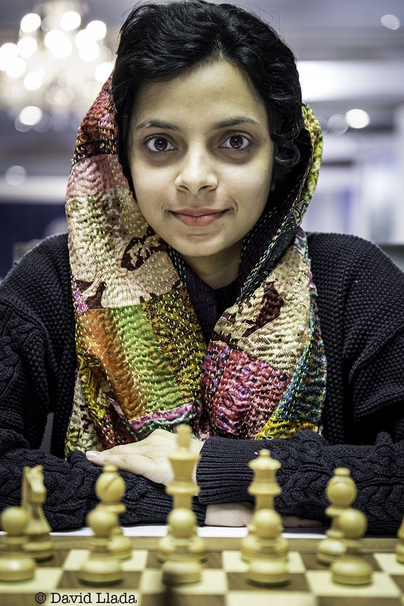 Odisha's Padmini Rout was eliminated in the third round. Image courtesy: David Llada