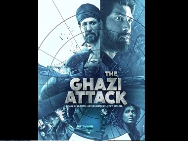 Poster of The Ghazi Attack
