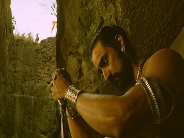 Kunal Kapoor in a still from Veeram. YouTube