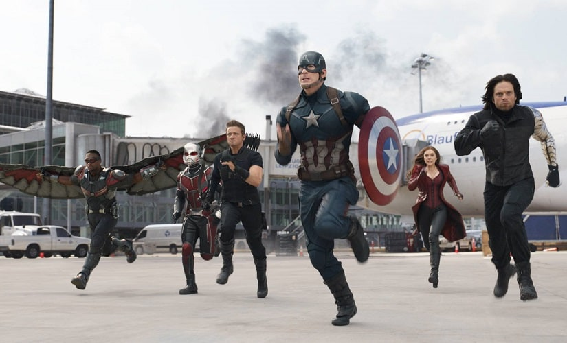 A still from Captain America: Civil War. Image from Facebook