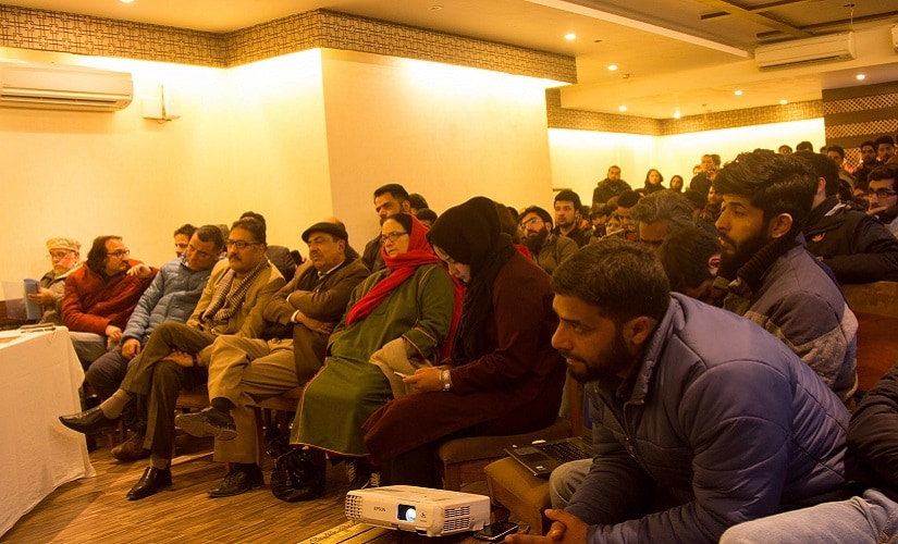 A seminar was organised in Srinagar where a panel of experts debated whether Kashmir should be made part of CPEC. Firstpost/Sameer Yasir