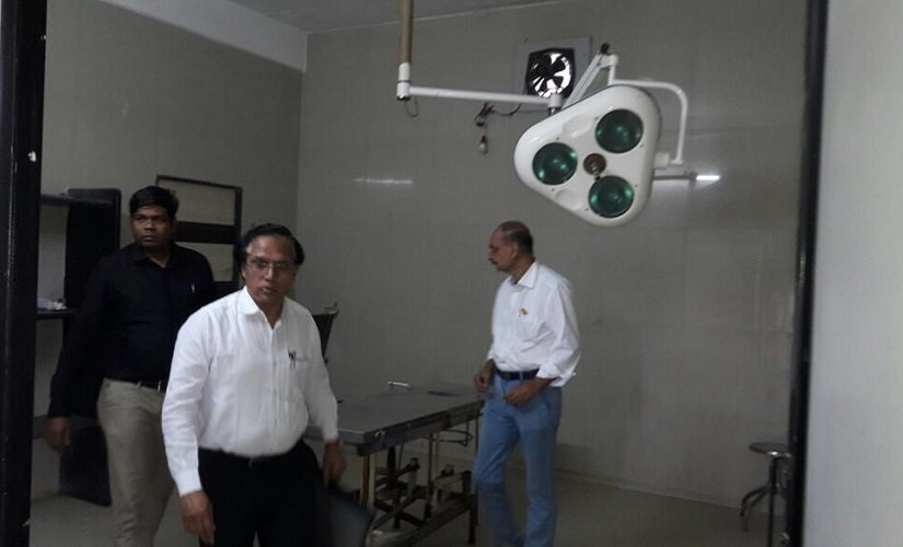 The illegal Bharati Hospital was equipped with several medical facilities. Firstpost/Varsha Torgalkar