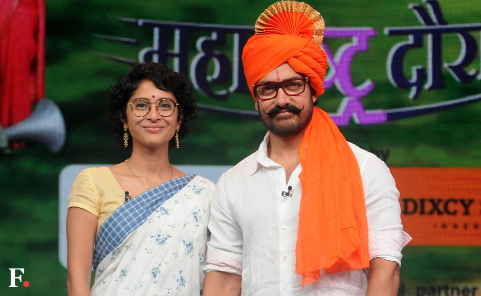 Aamir Khan and Kiran Rao. Sachin Gokhale/Firstpost