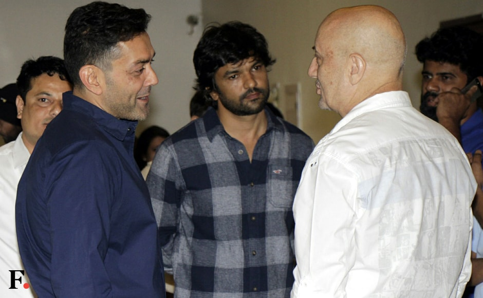 Bobby Deol was spotted. Sachin Gokhale/Firstpost