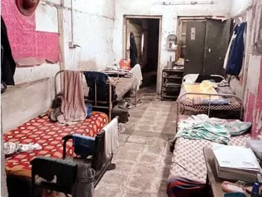 Resident doctors stay poorly furnished hpostel rooms in Mumbai. Image courtesy  Raghuraj S Hegde