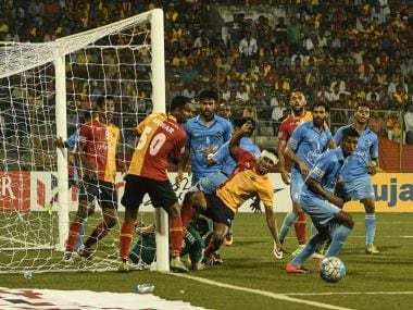 East Bengal were stunned by Churchill Brothers at home in the I-League. Twitter/ @ILeagueOfficial