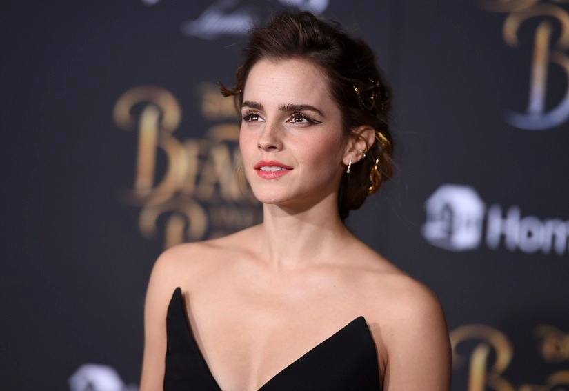 Emma Watson. Not in that Vanity Fair photo. Image courtesy AP